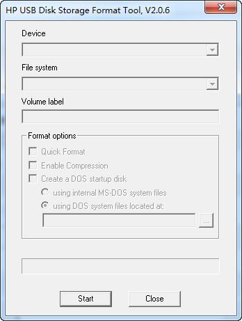 preformat u盘低级格式化截图