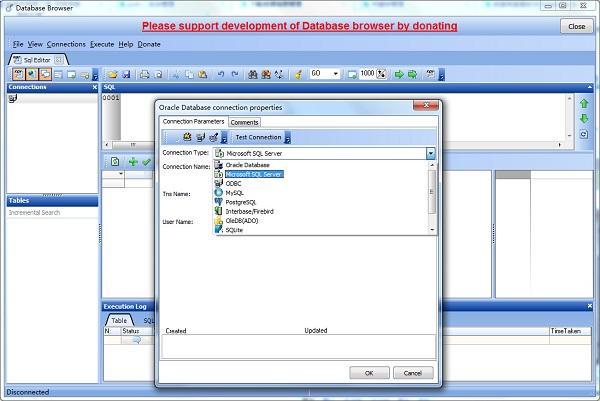 数据库查看软件Database Browser截图