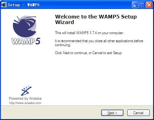 WAMP5截图