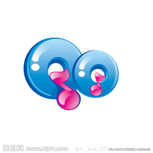 可爱的美少女QQ字体