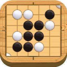 手机游戏-五子棋LOGO