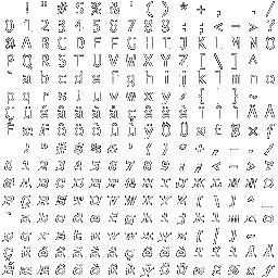 BitFontCreator(Bitmap Font Creator)LOGO