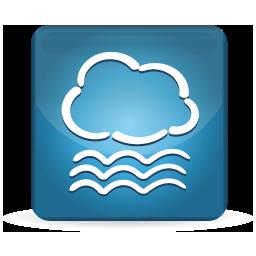 手机天气图标PSD素材
