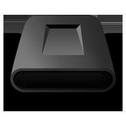 黑色磁盘图标下载